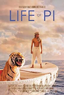 Life Of Pi Original Movie Poster Double Sided 27x40