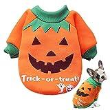 SUNYOK Ropa de Halloween para mascotas Traje de Perro...
