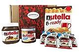 Nutella Caja De Selección Definitiva - 18 Puntos - El Perfecto Nutella Regalo De Los Amantes - Cesta Exclusiva Para Burmont's