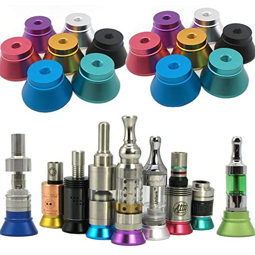 7 Pack Metal Stand Base Holder for 510 Thread Tank (Multi-color)