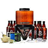 BrewDemon Craft Beer Brewing Kit Pro with Bottles - Conical Fermenter Eliminates Sediment and Makes Great Tasting Home Made Beer