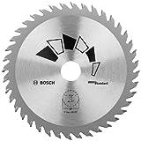 Bosch 2609256804 Standard Lame de scie circulaire 18 dents carbure Coupe nette Diamètre 140 mm alésage 12,75 Largeur de coupe 2,2 mm
