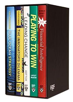 Harvard Business Review Leadership & Strategy Boxed Set (5 Books) by [Harvard Business Review, John P. Kotter, Clayton M. Christensen, Renée A. Mauborgne, W. Chan Kim]