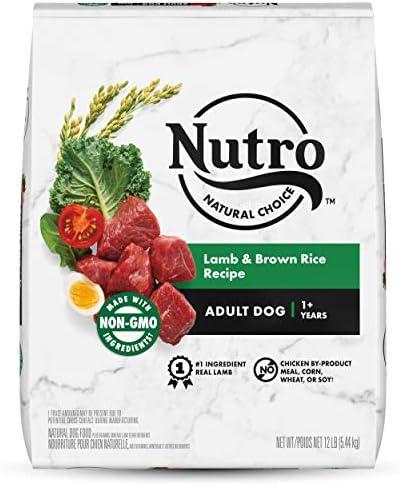 Nutro Natural Choice Adult Dry Dog Food Lamb Brown Rice Recipe Dog Kibble 12 lb Bag product image