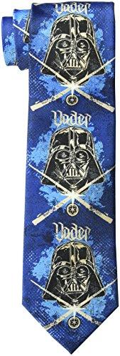 Star Wars Herren Darth Vader Schablonen-Krawatte - Blau - Einheitsgröße