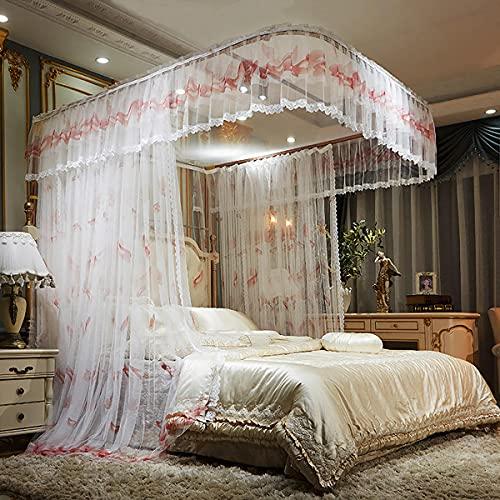 EYCIEROT Mosquitera para cama individual, individual, doble, king size de fácil instalación, sin productos químicos añadidos para niños y adultos