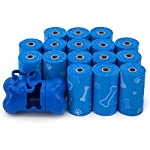Best Pet Supplies, Inc. Best Pet Supplies Dog Poop Bags, Rip-Resistant and Doggie Waste Bag Refills With d2w Controlled-Life Plastic Technology - Pack of 240, Blue (Unscented) 6
