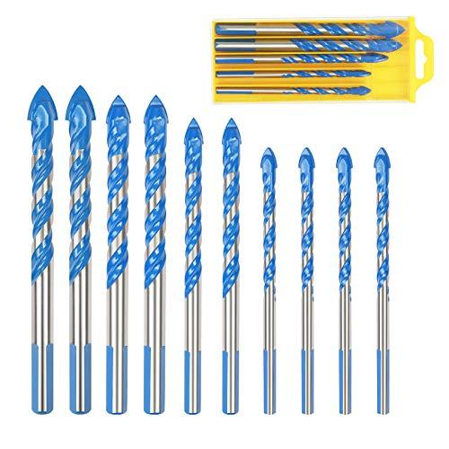 avellanadora broca para taladrar pino de broca ajustable con regalo de L forma de tornillo (B)