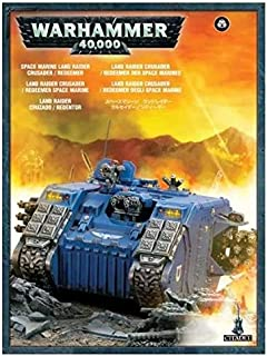 Games Workshop 99120101229 S/Marine Land Raider Crusader/Redeemer Plastic Kit
