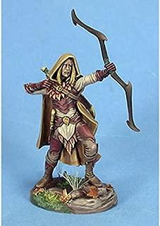 Male Wood Elf Archer Miniature Visions In Fantasy Dark Sword Miniatures