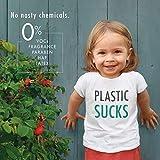 Eco by Naty Premium Bio-Windeln für empfindliche Haut, Größe 3, 4-9 Kg, 2 Packungen à 50 Stück (100 Stück insgesamt), weiß - 3