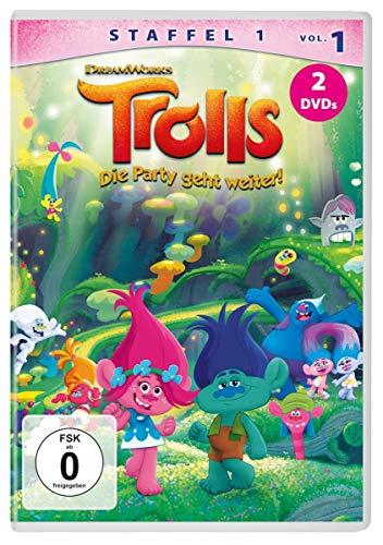 Trolls: Die Party geht weiter! - Staffel 1, Vol. 1 [2 DVDs]