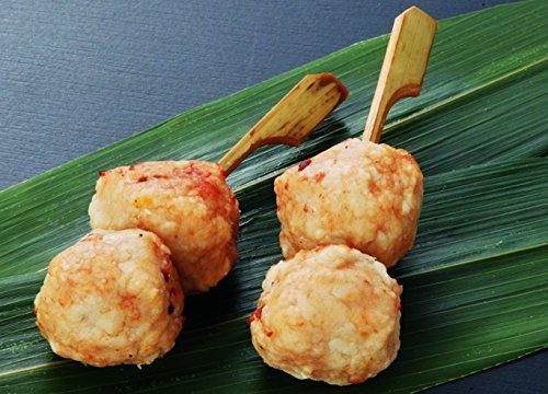 冷凍 国産つくね串・柚子 2個刺 400gパック(20本入)