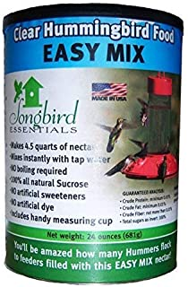 Best Songbird Essentials SE629 Clear Hummingbird Nectar, 24 Ounce Review