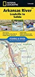 Arkansas River, Leadville to Salida (National Geographic Fishing & River Map Guide (2303))