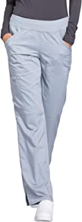 Women's Mid Rise Straight Leg Pull-on Pant Tall
