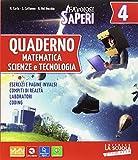 Photo Gallery favolosi saperi. matematica-scienze e tecnologia. con quaderno e facile. per la 4ª classe elementare