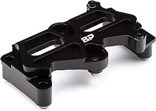 BlackPath - Civic + Integra Engine Main Block Girdle + Dowel Pin Kit for VTEC Swap Fits Honda + Acura B16 + B17 + B18 + B20 Engine Guard (Black) T6 Billet