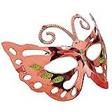 KIRALOVE Rojo - Hermosa máscara Veneciana - Mariposa - Colo