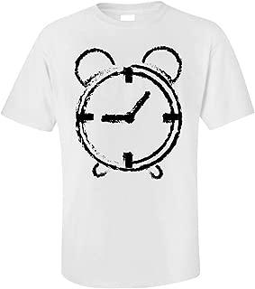 Funny Alarm Clock - Timekeeper Minutes Hours Seconds Hands - Humor - Unisex T-Shirt