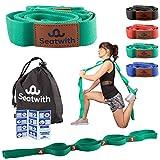 Seatwith Gymnastik-Gurt mit 10 Schlaufen | Yoga-Gurt 200 x 4 cm | Stretch-Strap für mehr...