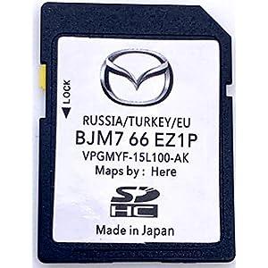 Mazda Connect Navi SD Karte