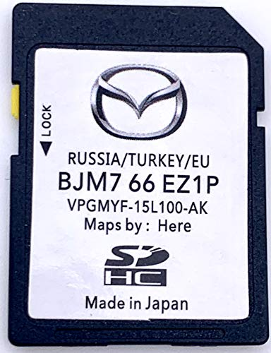 Karte SD GPS Mazda Connect europe-turquie-russie 2017-2018 REV bjm7 66 ez1 F