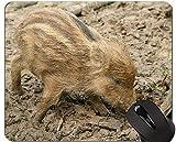 Yanteng Cojín de ratón de Cerdo Cute Animal, Launchy Mouse Pad Mat
