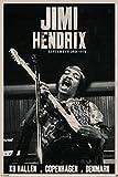 1art1 66294 Jimi Hendrix Poster - Live Tour, Kopenhagen