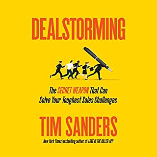 Dealstorming audiobook cover art