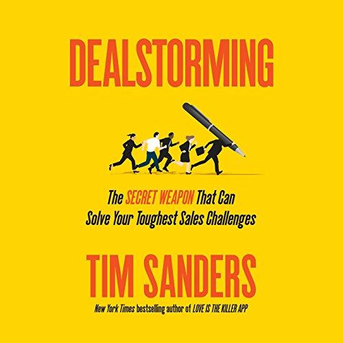 Dealstorming audiobook cover art