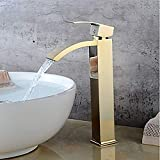 ZGQA-GQA Moderna de gama alta Gold Hotel baño baño grifo del fregadero -...