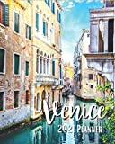 Venice 2021 Planner: Weekly & Monthly Agenda | January 2021 - December 2021 | Venezia Italia | Canal In Venice Historical Buildings Of Venice Italy ... Organizer And Calendar, Pretty and Simple