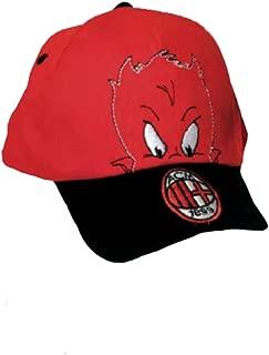 Cappellino Jersey elasticizzato personalizzato AC Milan