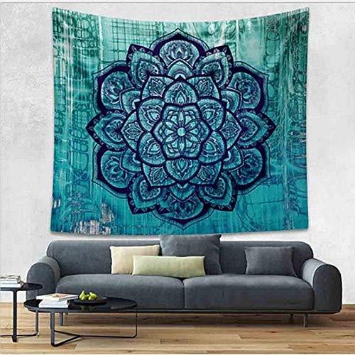 KHKJ Mandala Wandteppich Hippie-Stil Wandbehang Wandverkleidung Yogamatte Hauptdekoration Strandtuch Tischdecke A3 95x73cm