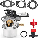 N/C ZAMDOE Carburateur 591137 pour Briggs & Stratton 796608 590948 594287 799248, pour Nettoyeur Haute Pression Troy Bilt 7.75Hp 8.75Hp 8.5Hp 190CC, 2700-3000PSI