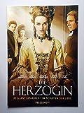 Die Herzogin - Keira Knightley - Ralph Fiennes - Hayley Atwell - Presseheft