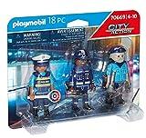 PLAYMOBIL City Action 70669 Set Figuras Policía, Para niños de 4 a 10 años