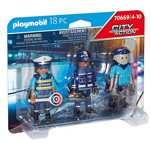 PLAYMOBIL City Action 70669 Set Figuras
