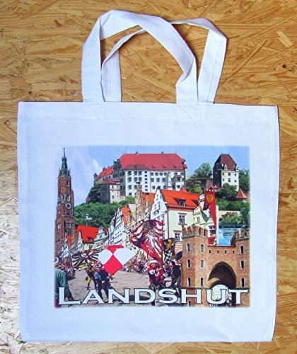 Landshut / Stofftasche/Stoffbeutel Landshuterhochzeit/Motiv