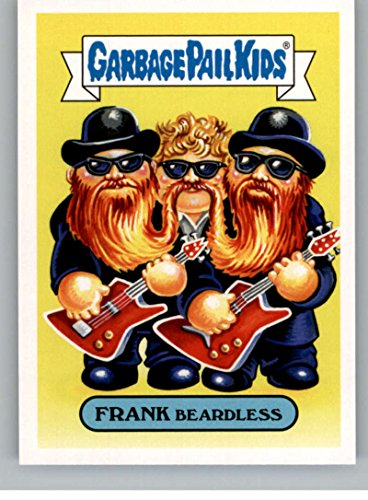 2017 Topps Garbage Pail Kids Series 2 Classic Rock #19B FRANK BEARDLESS