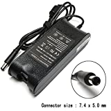 90W 19.5V 4.62A AC Adapter Laptop Charger for Dell Latitude E7440 E7450 E6400 E6410 E6420 E6430 E5430 E6330 E6320 E6230 E6220 E5540 E5440 inspiron N5110 N5010 N7110 N7010 N4010 N4110 Power Supply Cord