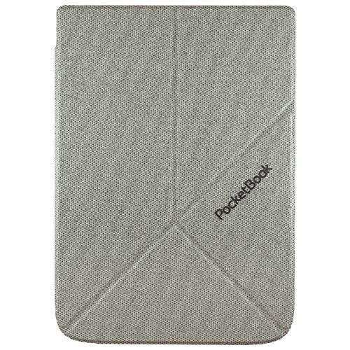 Pocketbook Origami - Funda Plegable para Impresora Inkpad 3 y Inkpad 3 Pro, Color Gris Claro