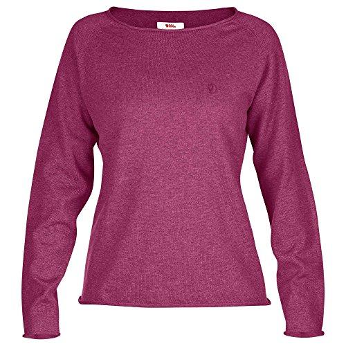 FJÄLLRÄVEN Damen Övik Sweater W. Pullover & Sweatshirts, Plum, XS
