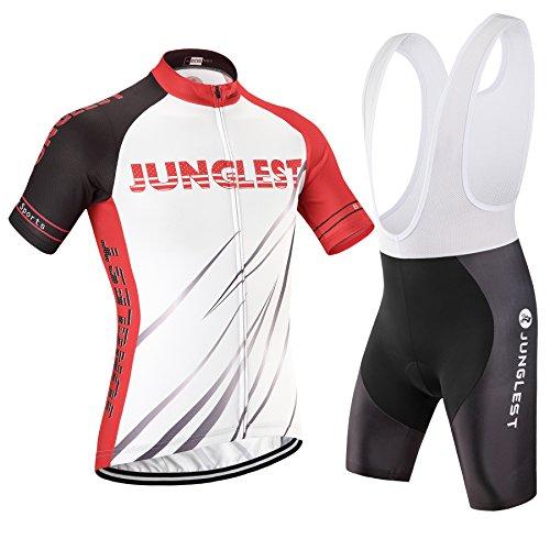junglest (Traje(Tirante Blancas) tamaño:XXL) Ropa Jerseys 2016 para los de Corta Maillot...