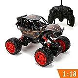 SYXX Fernbedienung Auto, Kinder Junge Männlich Primary School Student Lade 3-6 Jahre alt Rennwagen, Fernbedienung Autoradio-Steuer High Speed Off-Road-Rennwagen, Spielzeug-Auto Kinder...