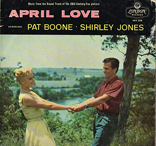 April Love - Pat Boone, Lionel Newman, Shirley Jones LP