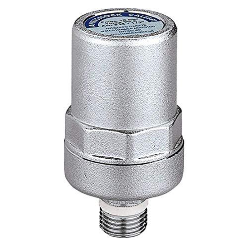 Caleffi 525040 ANTISHOCK Wasserschlagdämpfer 1/2 Zoll Messing-Gehäuse Verchromt