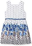 Happy Girls Mädchen Kleid mit Print Blau (Royalblau 69) 152