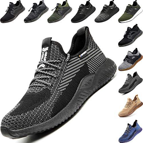 Unisex Zapatillas de Seguridad con Puntera de Acero Hombre M